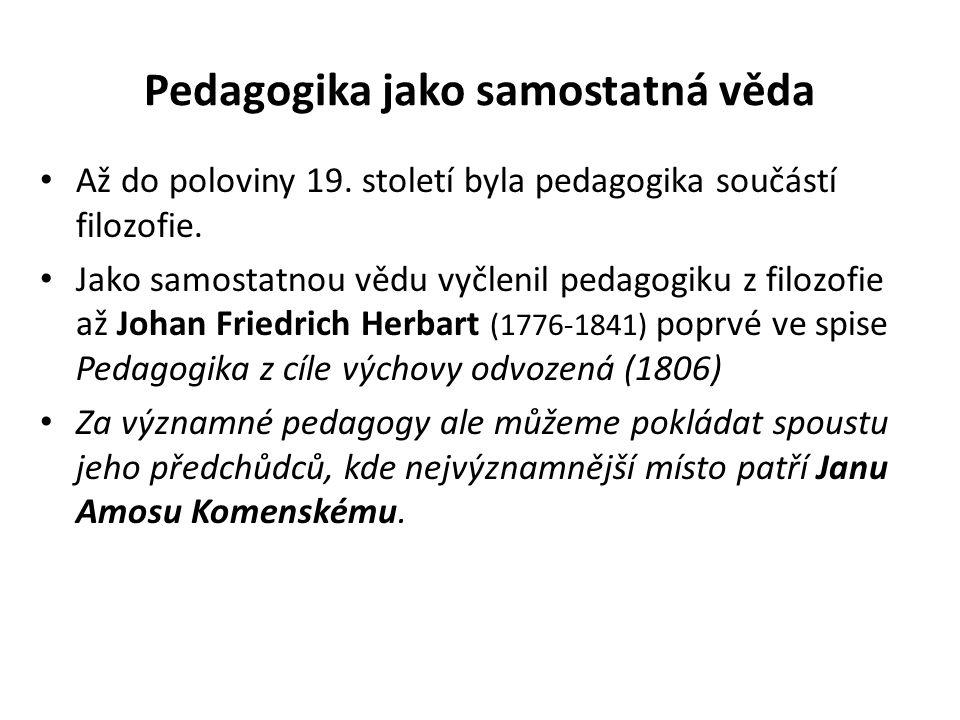 Význam pojmu pedagogika v zahraniční literatuře Pedagogy v angličtině neznamená pedagogika, ale spíše odpovídá českému pojmu obecná didaktika, zatímco českému pedagogika odpovídá svým obsahem anglický termín educational sciences, v překladu edukační vědy.obecná didaktikaedukační vědy Edukační vědy potom označují velkou skupinu souvisejících disciplín, což je mnohem bližší modernímu pojetí pedagogiky, proto například Jan Průcha (Moderní pedagogika, Portál 2005) preferuje ve svých pracích termín edukační vědy.