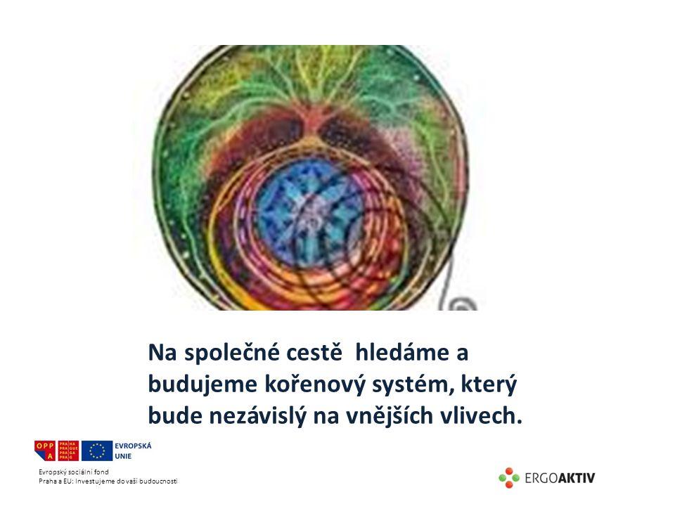 Evropský sociální fond Praha a EU: Investujeme do vaší budoucnosti Na společné cestě hledáme a budujeme kořenový systém, který bude nezávislý na vnějš