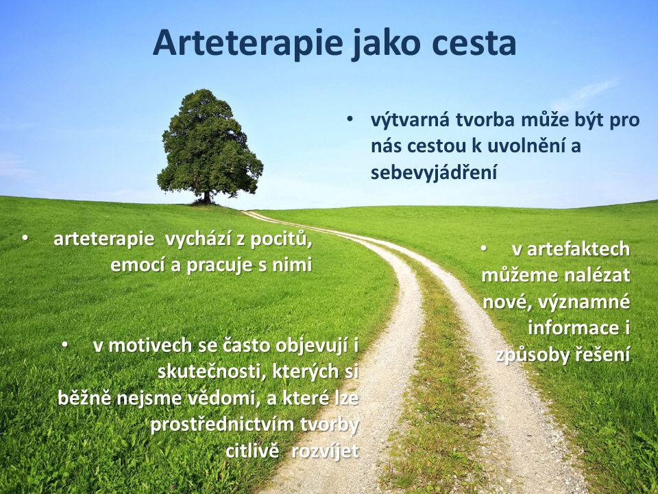 Evropský sociální fond Praha a EU: Investujeme do vaší budoucnosti Arteterapie jako cesta výtvarná tvorba může být pro nás cestou k uvolnění a sebevyj