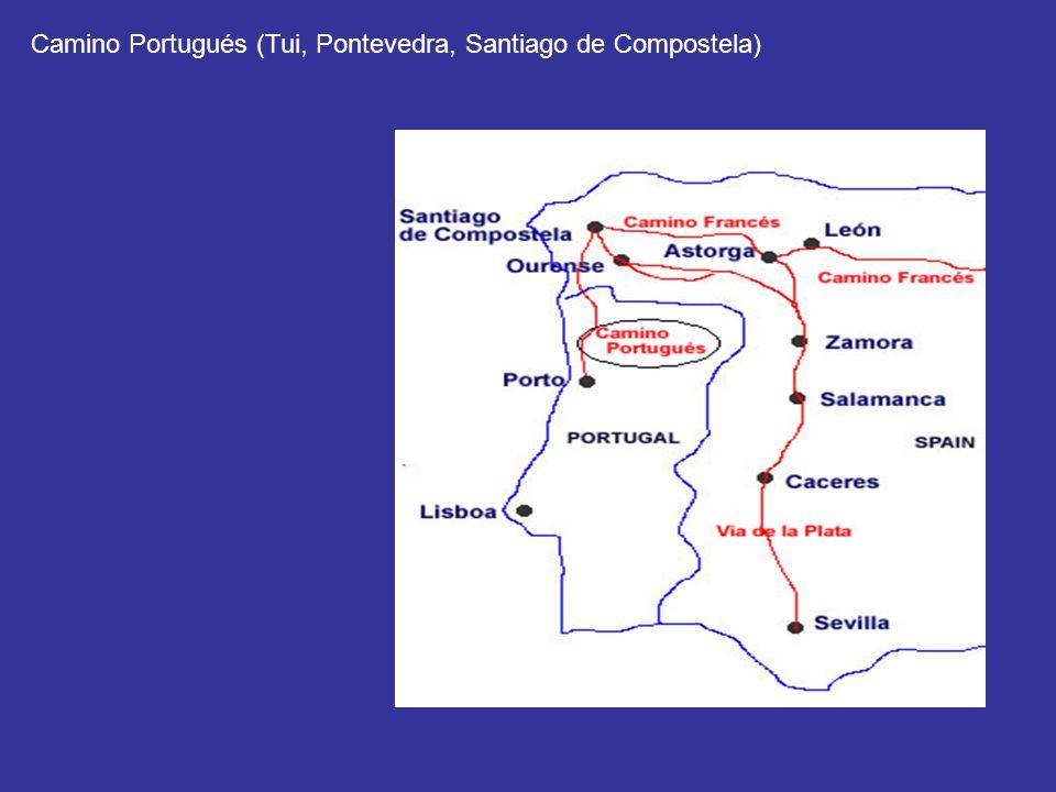 Camino Portugués (Tui, Pontevedra, Santiago de Compostela)