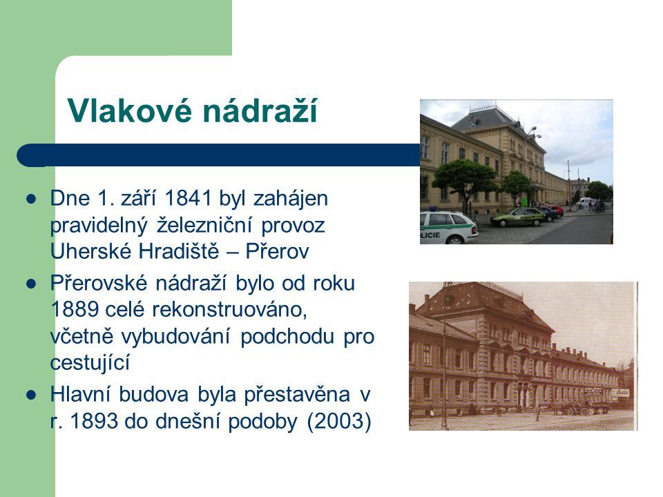 Kaple a kostely Kaple sv.Jiří Malá nenápadná stavba prožila s Přerovem celé jeho dějiny.