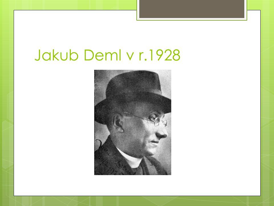 Jakub Deml v r.1928