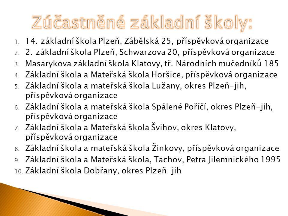 1. 14. základní škola Plzeň, Zábělská 25, příspěvková organizace 2.