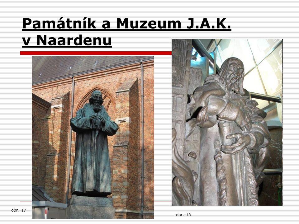 Památník a Muzeum J.A.K. v Naardenu obr. 17 obr. 18