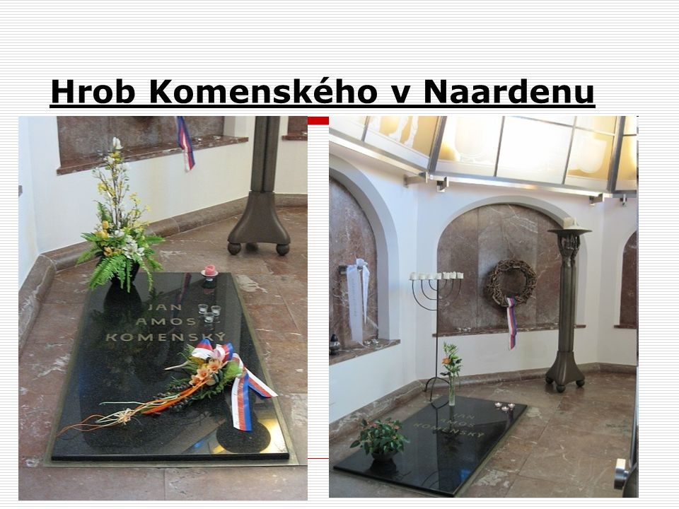 Hrob Komenského v Naardenu obr. 20