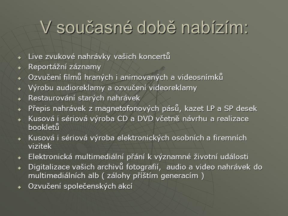 Kontakt: Jan Pavlas AudioStudio Chotěboř Marešova 634 583 01 CHOTĚBOŘ  736 769 190, 569 623 588  pavlas.jan@infobar.cz pavlas.jan@infobar.czpavlas.jan@infobar.cz www.infobar.cz