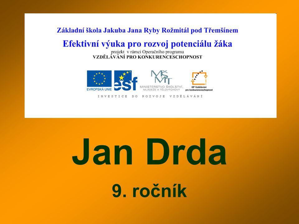 Jan Drda 9. ročník