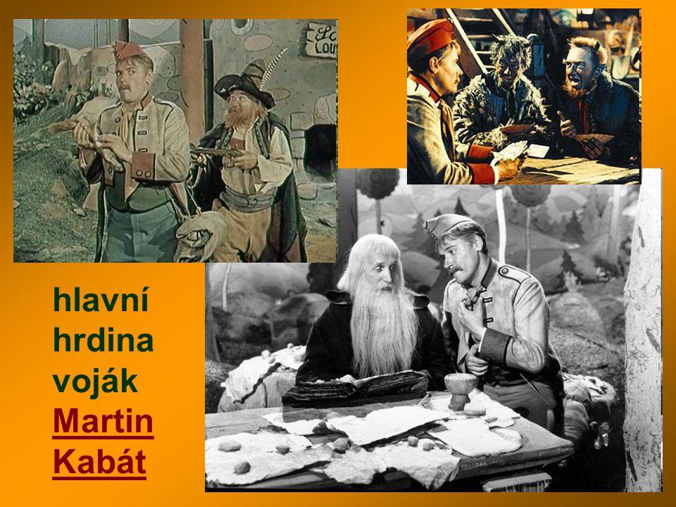 hlavní hrdina voják Martin Kabát