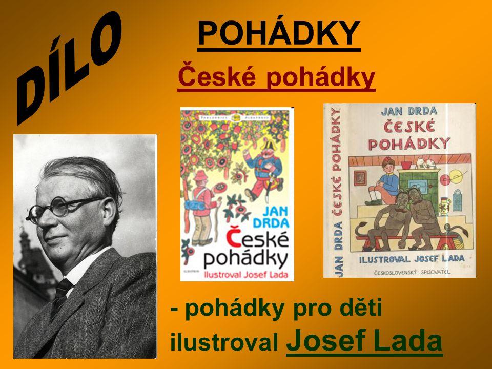 POHÁDKY České pohádky - pohádky pro děti ilustroval Josef Lada