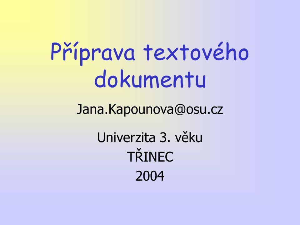 SAZBA TEXTU Veškerý vytištěný text je sazba Počítač jako psací stroj – Výhody a nevýhody Textový editor MS Word Názvosloví – počítačová hantýrka Obor zabývající se pěknou sazbou – typografie
