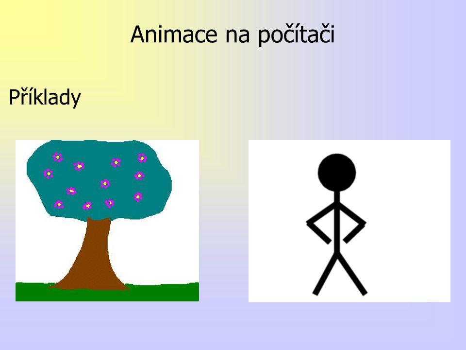 Animace na počítači Příklady