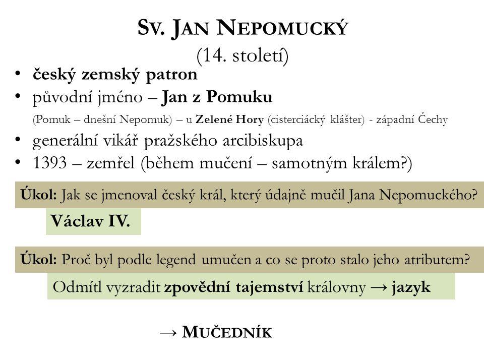 S V.J AN N EPOMUCKÝ (14.