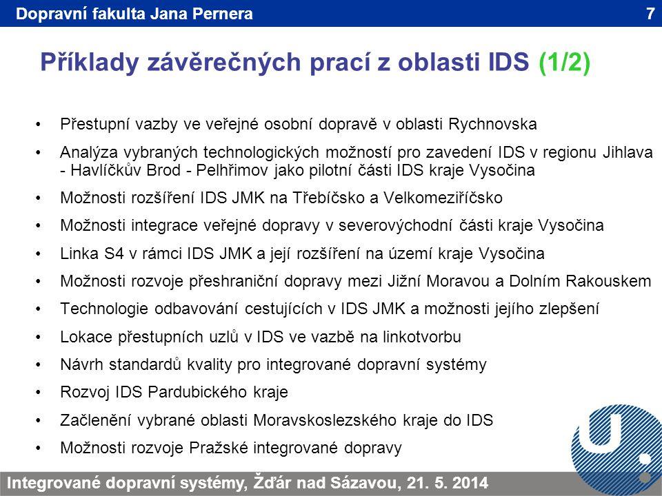 Příklady závěrečných prací z oblasti IDS (1/2) 7TRANSCOM - Žilina 200923.