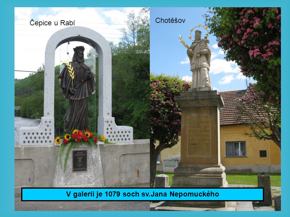 Poutní město Nepomuk – rodiště sv.Jana Nepomuckého.