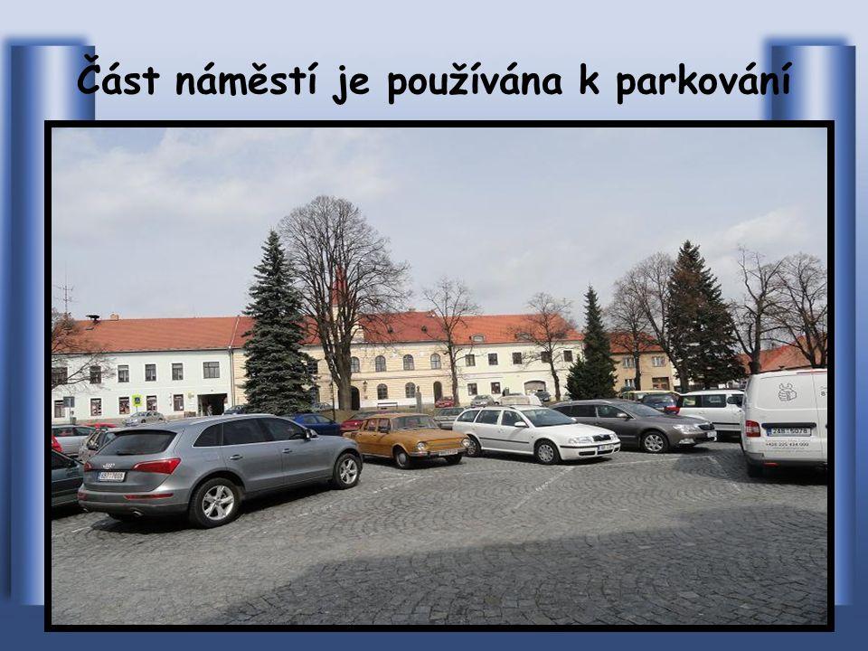 Z leteckého snímku je vidět centrum – Masarykovo nám.