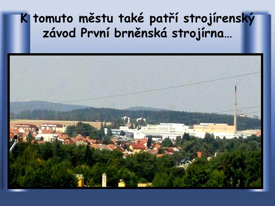Pohled na město ze silnice směr Žďár