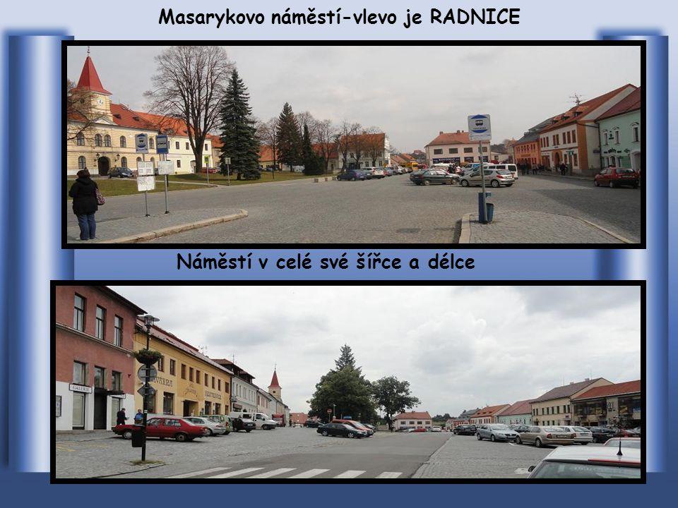 Příjezd do centra od Brna