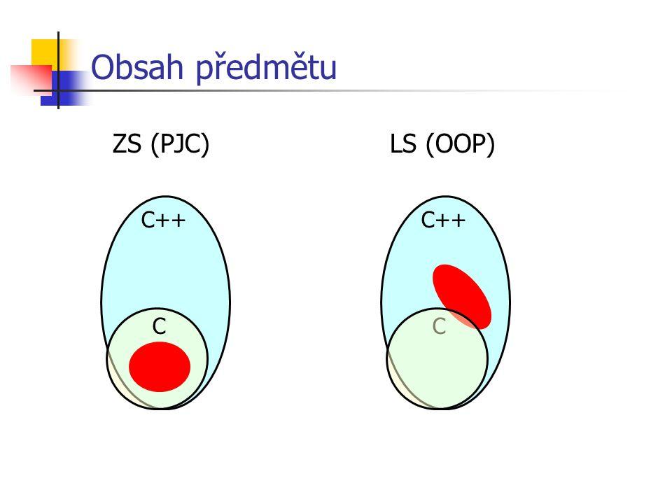 Chytré řetězce - třída class str { private: char* buf; public: str() { buf = 0; }; str( str& s); str( char* s); ~str() { delete[] buf; }; str& operator=( str& s); str operator+( str& s); int len() { return buf .