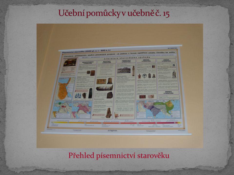 Přehled písemnictví starověku