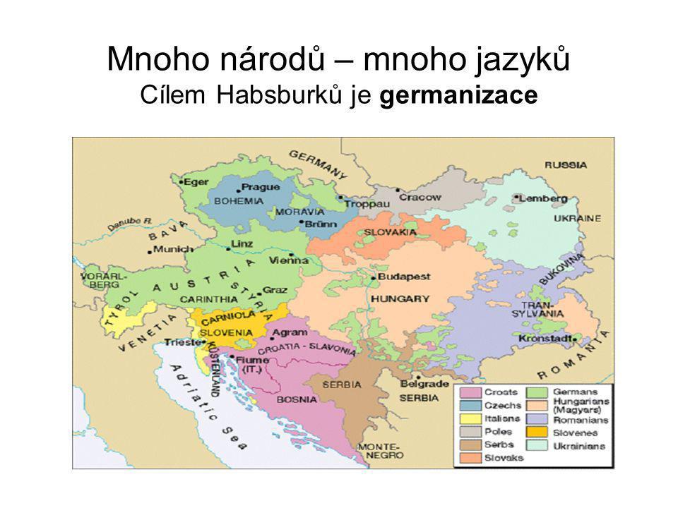 Situace českého národa na konci 18.stol.
