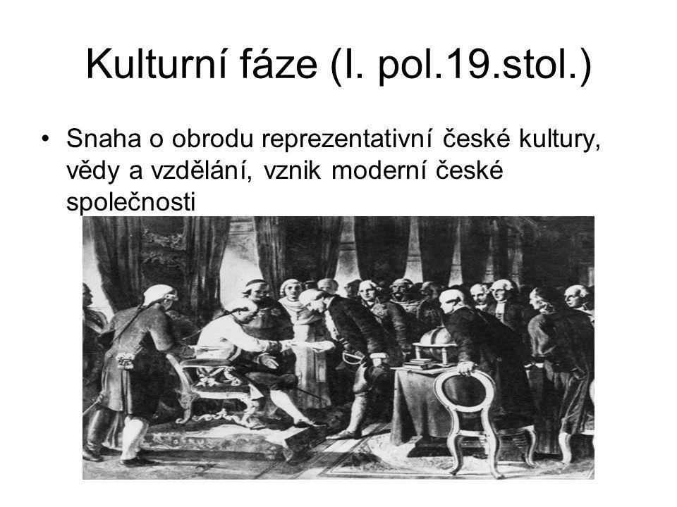 Kulturní fáze (I.