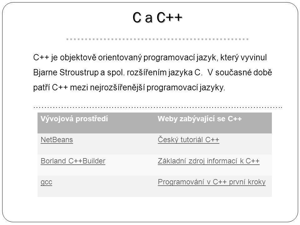 C a C++ C a C++ ………………………………………….