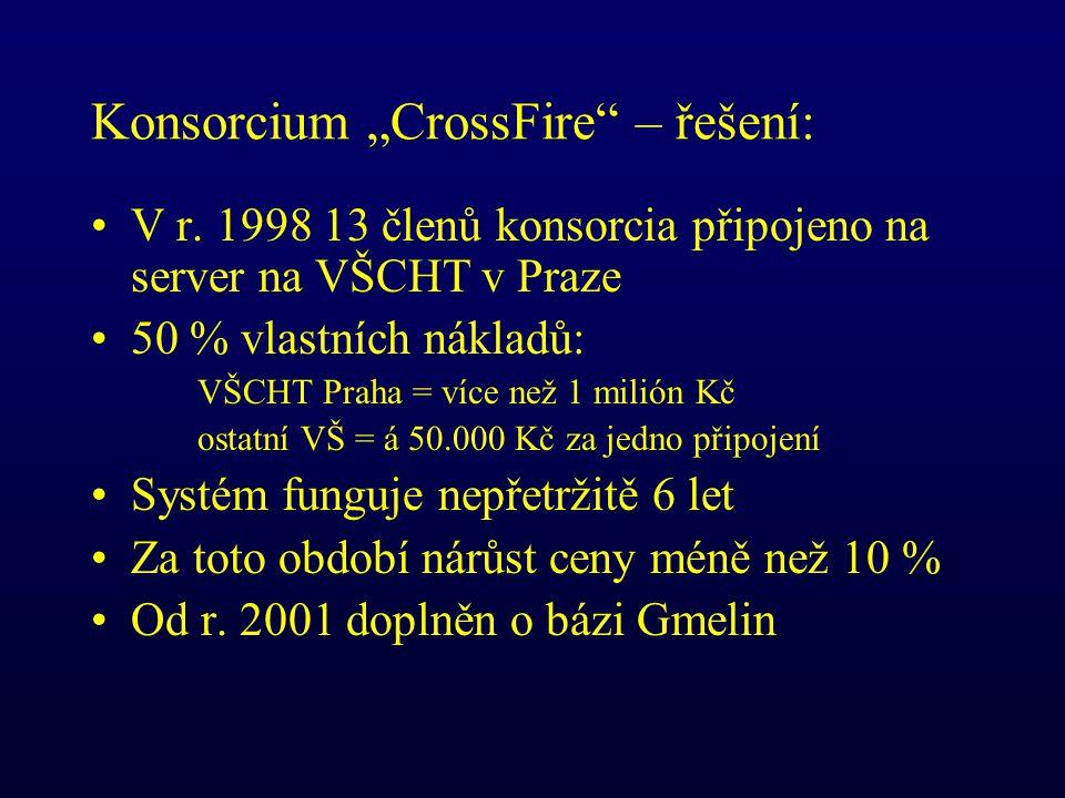 """Konsorcium """"CrossFire – řešení: V r."""