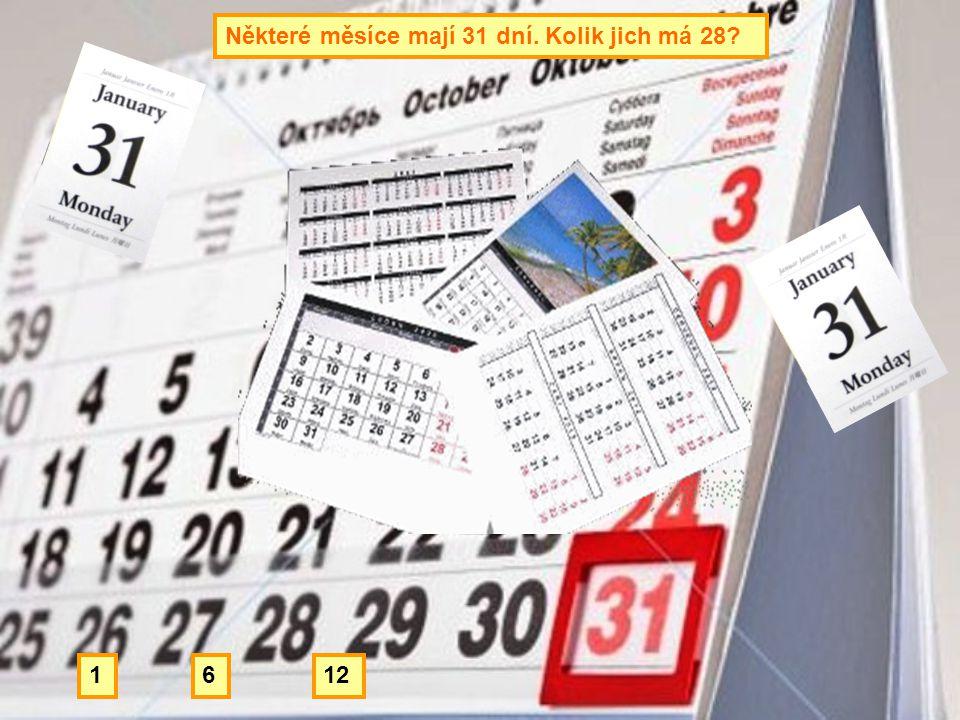 Některé měsíce mají 31 dní. Kolik jich má 28? 1261