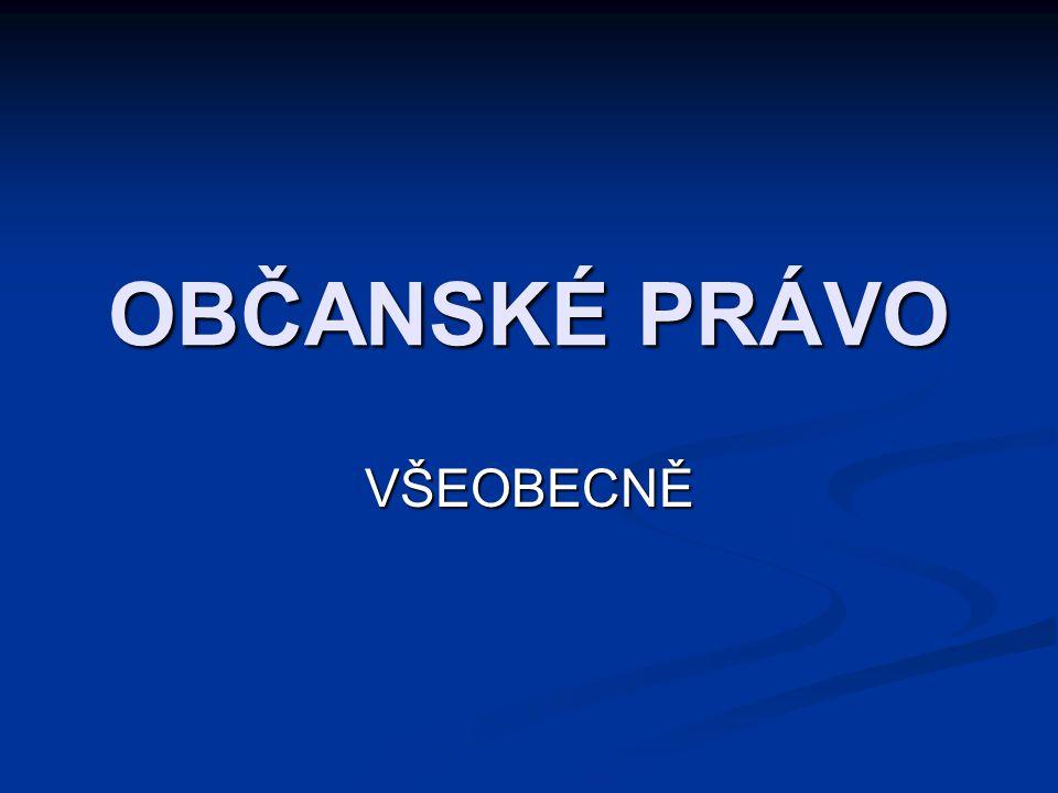 132 SOUKROMÉ PRÁVO V OBČANSKÉ SPOLEČNOSTI Ústavněprávní pojem občanské společnosti Ústavněprávní pojem občanské společnosti Česko založeno na (preamb.