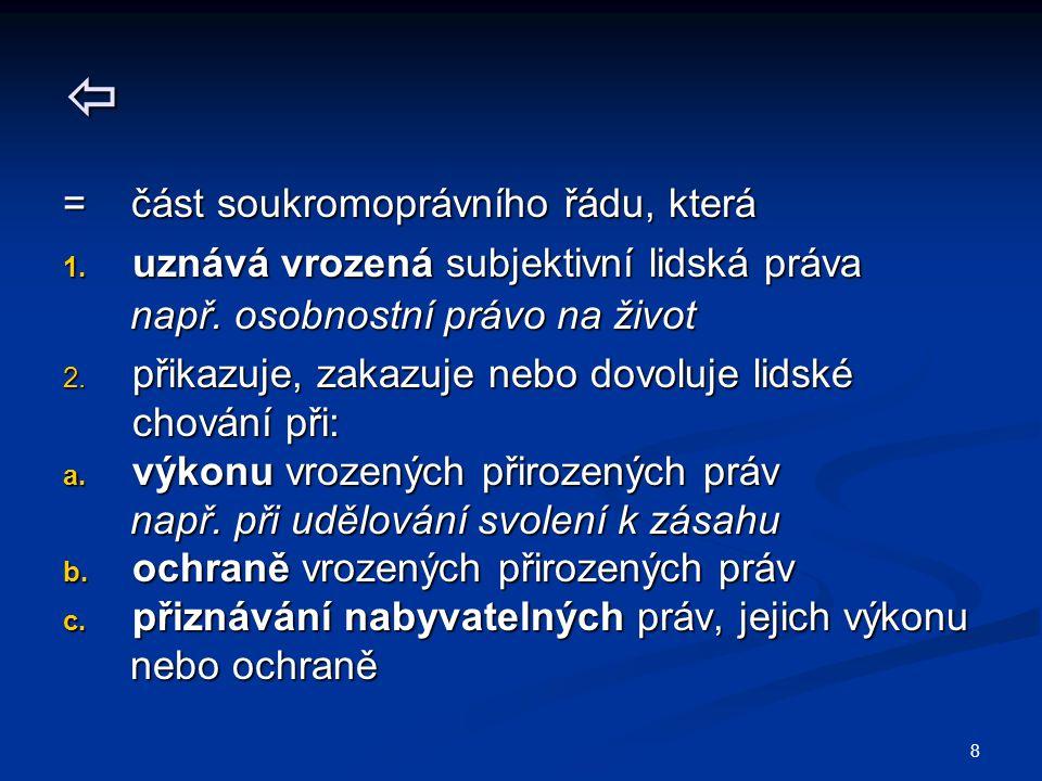 59 SOUKROMOPRÁVNÍ ZEMĚPIS Soukromoprávní soustavy Soukromoprávní soustavy 1.