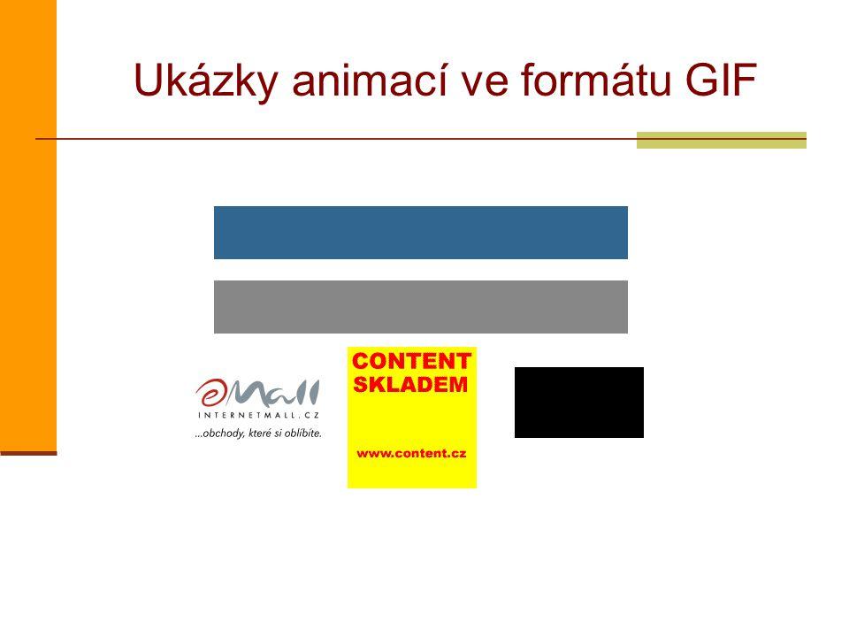 Ukázky animací ve formátu GIF