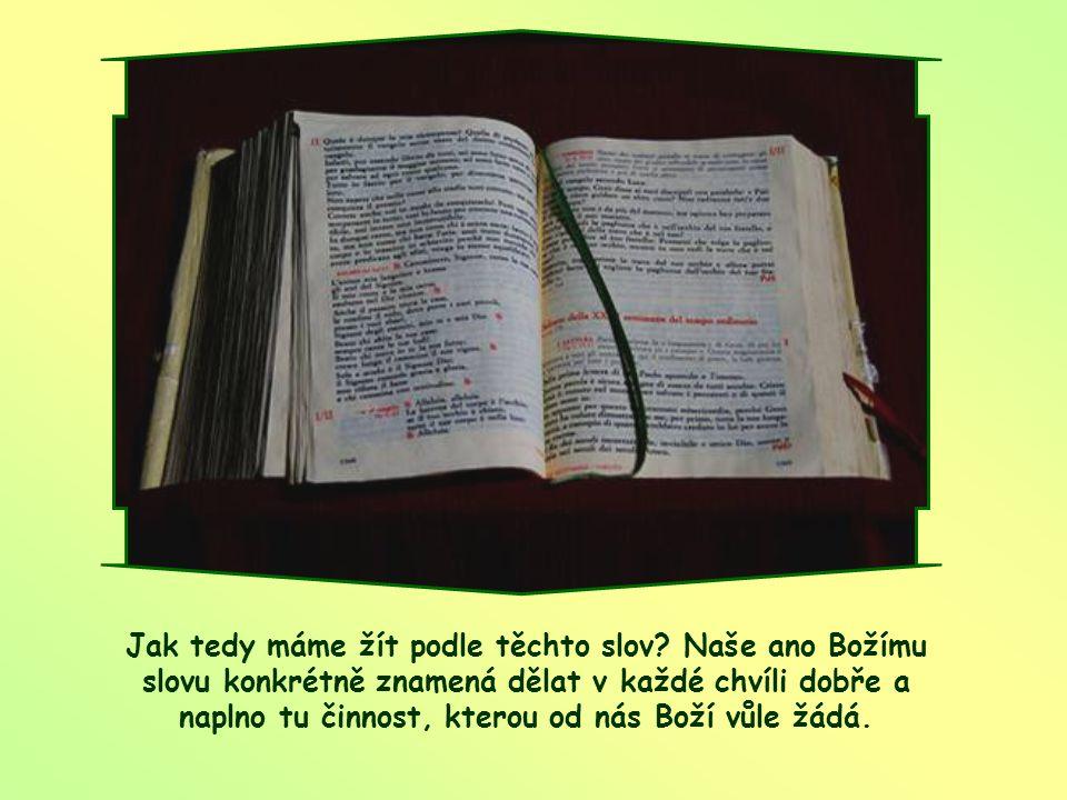 """""""Jsem služebnice Páně: ať se mi stane podle tvého slova!"""" (Lk 1,38)"""