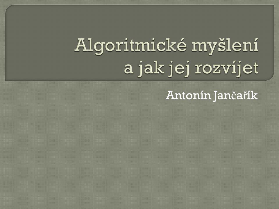 Antonín Jan č a ř ík