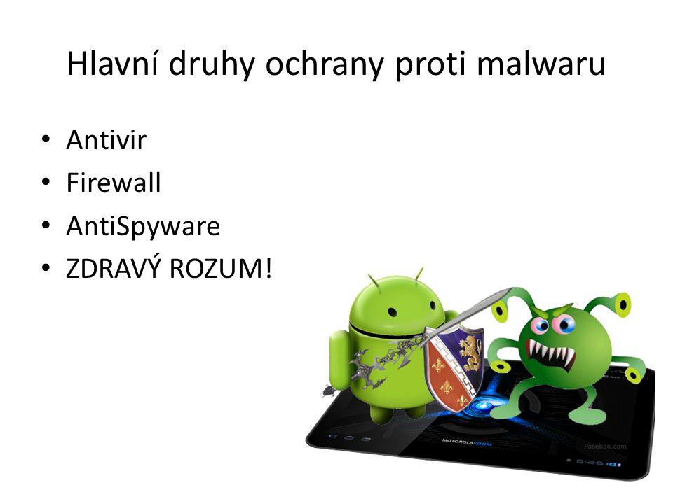 Známé antiviry AVAST.