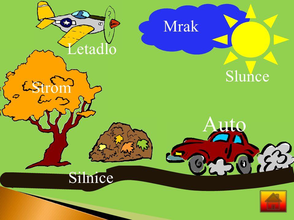 Mrak Slunce S L Strom Silnice Letadlo Auto