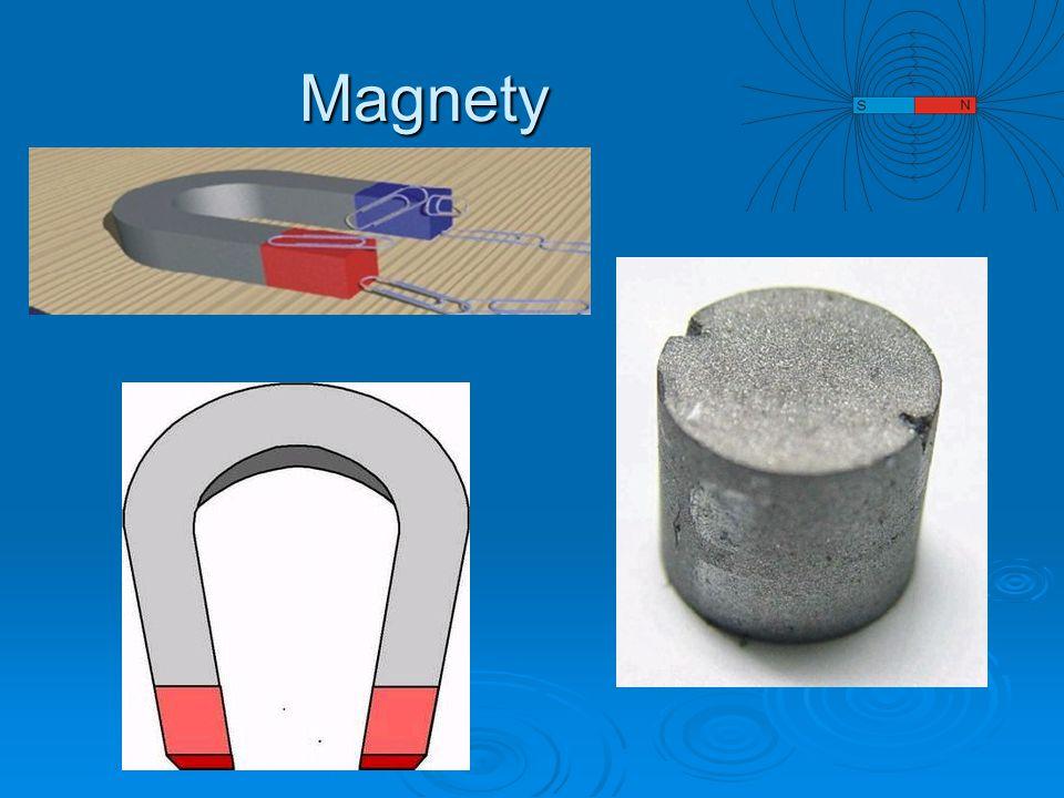 Která tělesa budou magnetem přitahována.