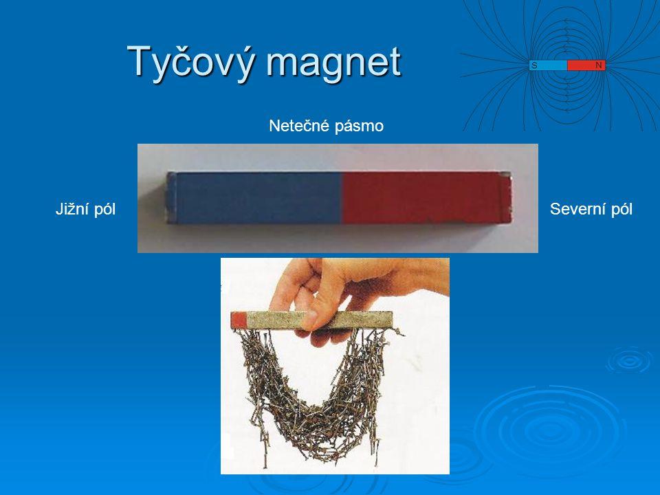 Zapiš a zapamatuj  Magnety na sebe působí magnetickými silami  Magnetické síly mohou být přitažlivé nebo odpudivé  Velikost magnetické síly ubývá s rostoucí vzdáleností od magnetu  Magnetické síly jsou zprostředkovány magnetickým polem.