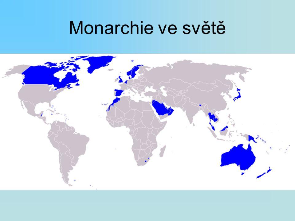 Monarchie ve světě