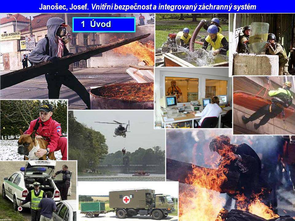 Janošec, Josef. Vnitřní bezpečnost a integrovaný záchranný systém 1 Úvod 1 Úvod