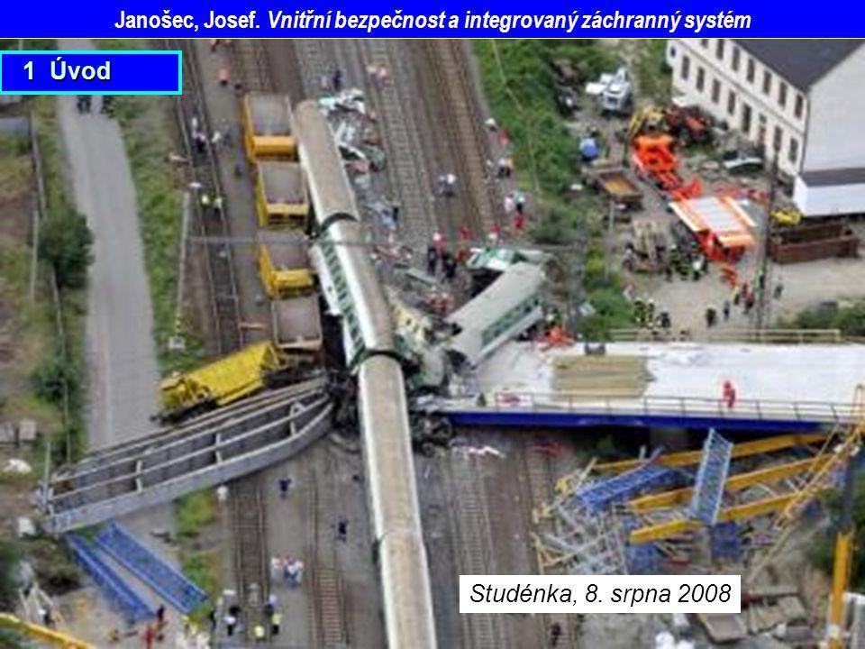 Janošec, Josef. Vnitřní bezpečnost a integrovaný záchranný systém Studénka, 8. srpna 2008