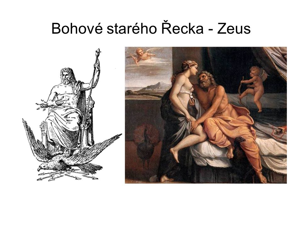 Bohové starého Řecka - Zeus