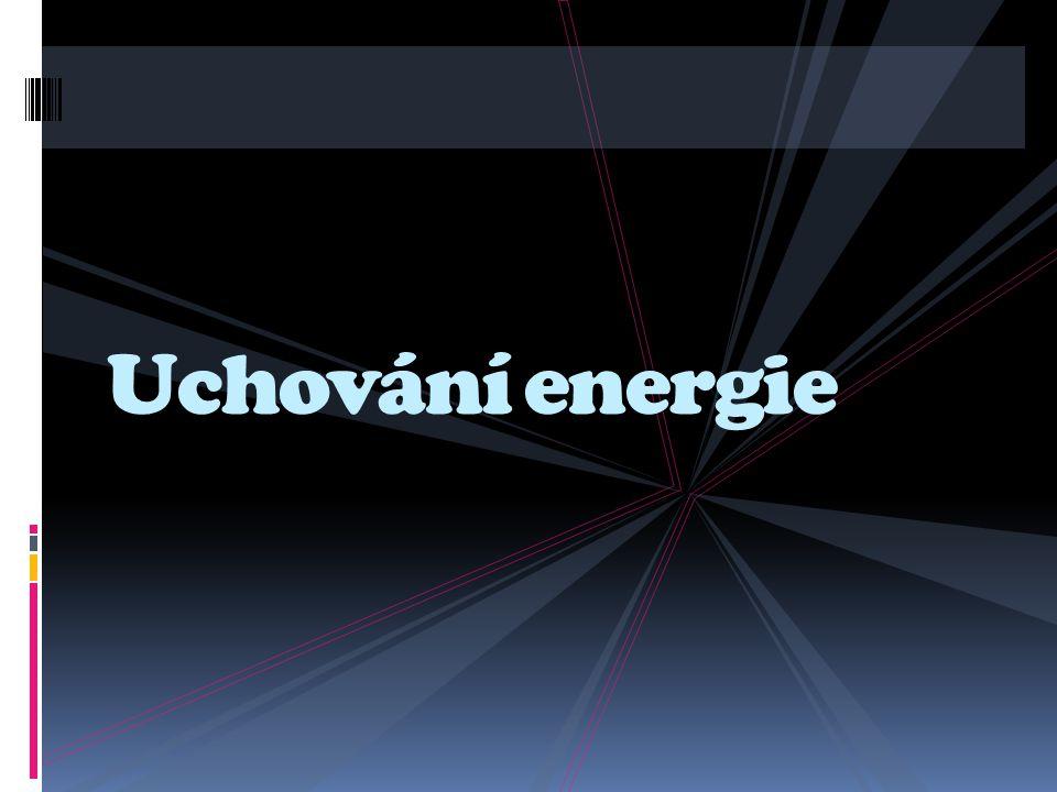 Uchování energie