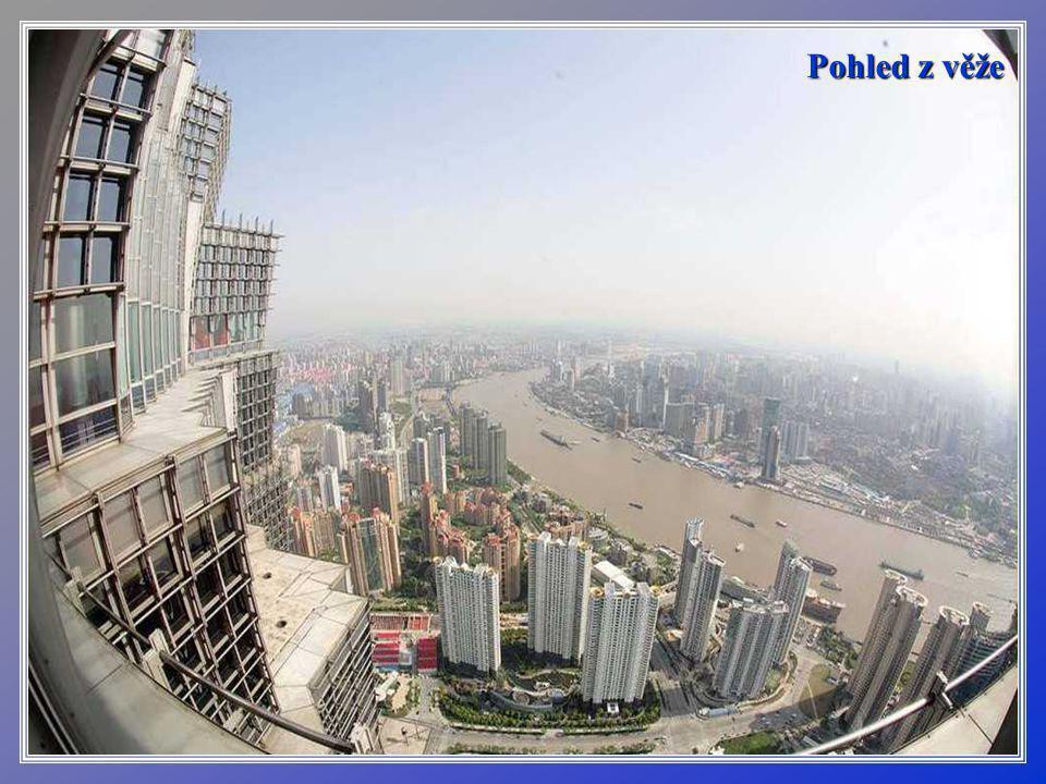 Věž - mrakodrap Jin Mao