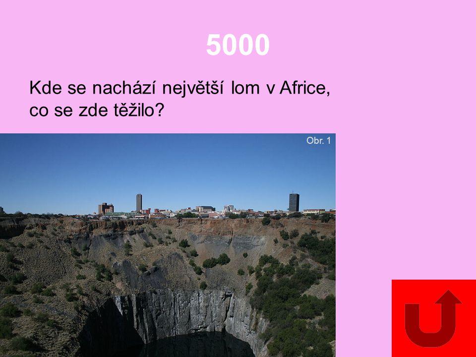 4000 Která nerostná surovina se těží v Maroku a v Západní Sahaře? (V Africe se nachází 2/3 světových zásob této suroviny.)