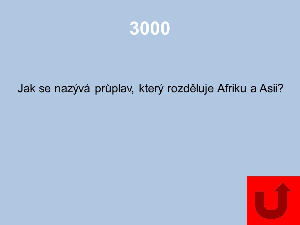 2000 Která hora Afriky je nejvyšší?