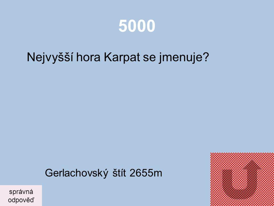 4000 Co je to fjord? správná odpověď Úzký záliv moře – moře zabíhá hluboko do pevniny - Norsko