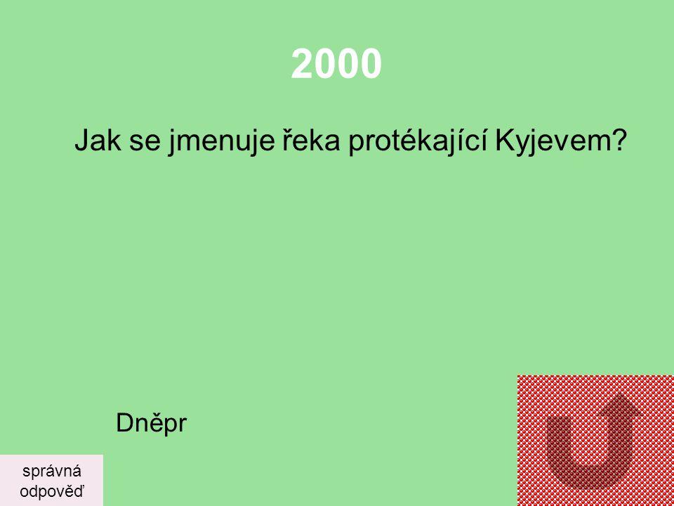 1000 Největší Evropská řeka se jmenuje a protéká? správná odpověď Volha, teče Ruskem