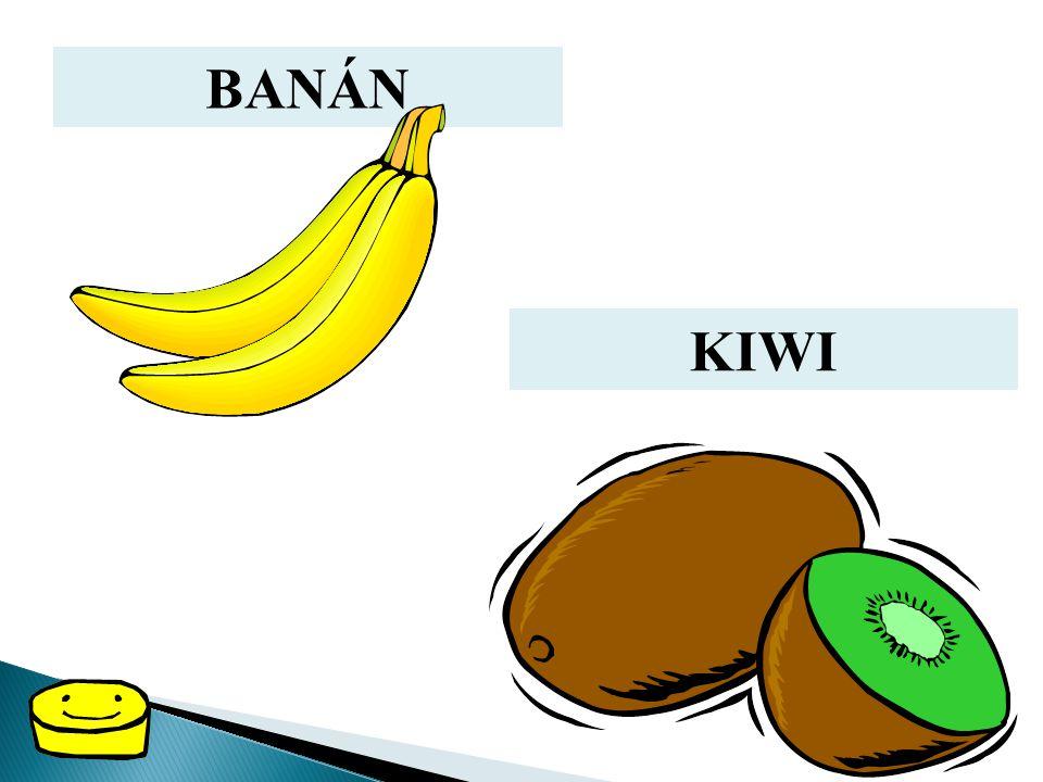 BANÁN KIWI
