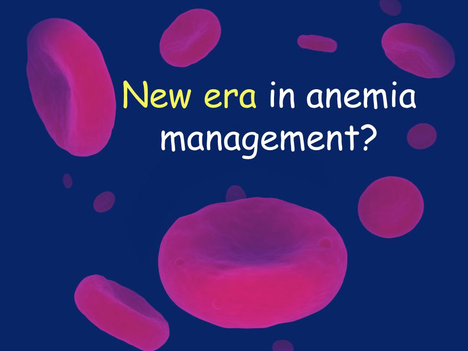 New era in anemia management?