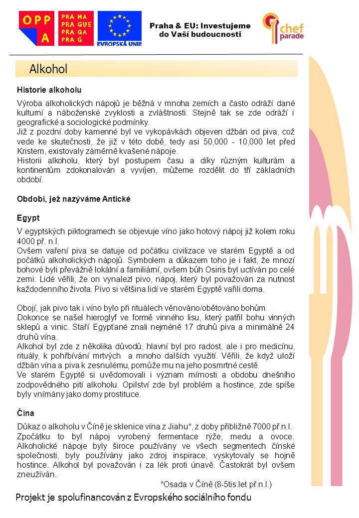 37 Projekt je spolufinancován z Evropského sociálního fondu Tequila Reposado Mixto Vyrábí se z tequily Blanco Mixto a platí pro ni stejná doba zrání a ukládání do sudů jako u tequily Reposado ze 100% agáve.